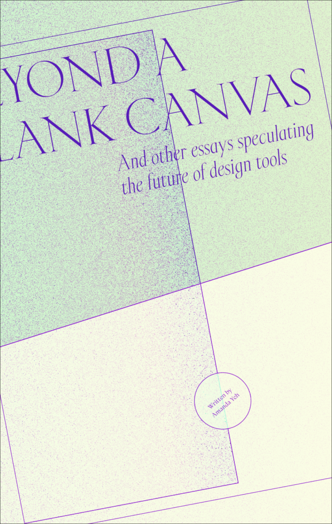 Book cover for beyond a blank canvas